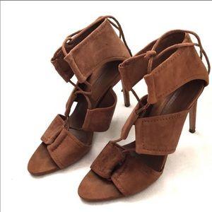 3/$20 Zara basic Collection Suede heel | 10